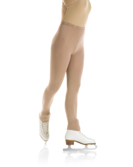 Mondor Naturals Footless Heavy Weight Ice Skate Tights 3393