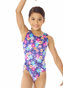 Mondor 7802 Flower Burst Girls Gymnastics Leotard