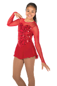 Jerry's 628 Red Ritz Skating Dress