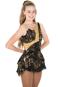 Jerry's 649 Gold Rush Skating Dress