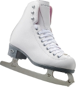 Riedell 114 Pearl Ladies Ice Skates