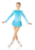 Mondor 2711 Glitter Velvet Ice Skating Dress