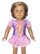 American Girl Doll Ice Skating Dress