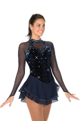 Jerry's 95 Navy Nights Skating Dress