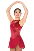Jerry's 88 Garnet Lace Skating Dress