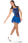 Jerry's 112 Delft Blue Figure Skating Dress