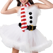 Holiday Jolly Snowman Costume
