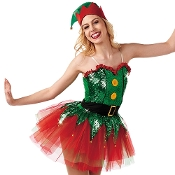 Santa's Helper Holiday Costume