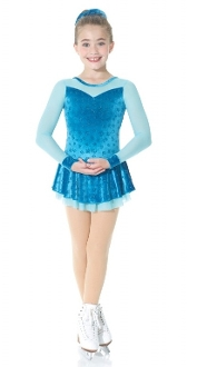 Mondor 2761 Turquoise Figure Skating Dress