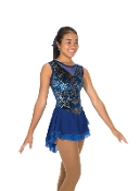 Jerry's 239 Belle Bow Figure Skating Dress