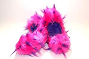 Fuzzy Soakers Crazy Fur - Hot Pink & Purple