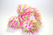 Fuzzy Soakers Crazy Fur - Hot Pink & Lime