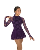 Jerry's 231 Lace Chanson Figure Skating Dress