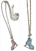 ChloeNoel Figure Skate Necklaces