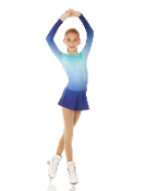 Mondor 2757 Ombre Figure Skating Dress