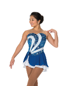 Jerry's 80 Side Swirl Figure Skating Dress