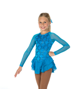 Jerry's 14 Chain Effect Figure Skating Dress