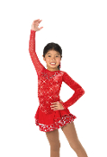 Jerry's 26 Ruby Razzle Figure Skating Dress