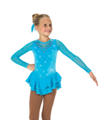 Jerry's 44 Crystal Waters Figure Skating Dress