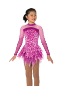 Jerry's 54 Fashionably Feline Figure Skating Dress