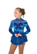 Jerry's 55 Crystalline Figure Skating Dress