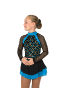 Jerry's 62 Tint of Turquoise Figure Skating Dress