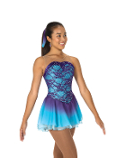 Jerry's 71 Amethyst Sky Figure Skating Dress