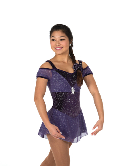 Jerry's 72 A Plum Affair Figure Skating Dress