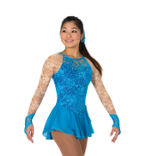 Jerry's 73 Lace Every Place Figure Skating Dress
