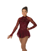 Jerry's 77 Fine Wine Figure Skating Dress