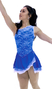 Jerry's 81 Splash of Lace Figure Skating Dress