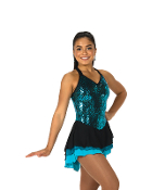 Jerry's 83 Sequinette Figure Skating Dress