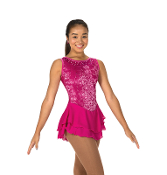 Jerry's 85 Sweep of Sequins Figure Skating Dress