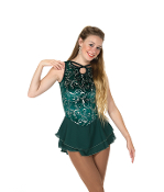 Jerry's 89 Emerald Locket Figure Skating Dress