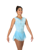 Jerry's 98 Ice Lyrics Figure Skating Dress