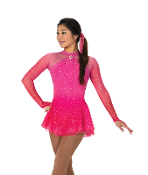 Jerry's 108 Glistenette Figure Skating Dress