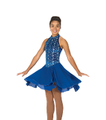 Jerry's 127 Dance the Blues Dance Dress