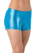 Balera Metallic Booty Dance/Gymnastics/Cheer Shorts