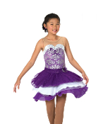 Jerry's 120 Dancing Violets Dance Dress