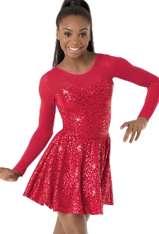 Sequin Sheer Sweetheart Holiday Costume