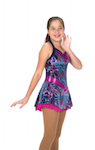 Jerry's 208 Storm Swirl Figure Skating Dress