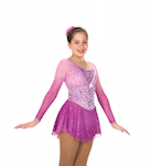Jerry's 209 Ring of Asters Figure Skating Dress
