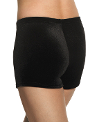 Mondor 7815 Velvet Girls Dance/Gymnastics Shorts