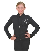 ChloeNoel J11 Polar Fleece Fitted Ice Skating Jacket