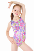 Mondor 7802 Peace & Love Gymnastics Leotard