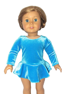 18in Doll Ice Skating Dress