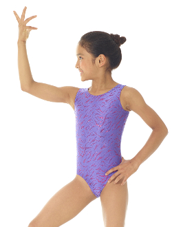The Mondor 7822 Girls Gymnastics Leotard