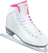 Riedell 13 Sparkle Girls Ice Skates