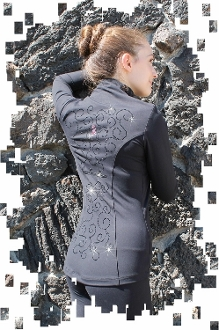 Ice Fire VJ503 Venetta Figure Skating Jacket