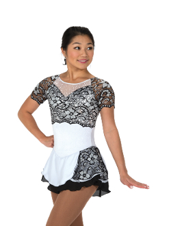 Jerry's 101 French Accent Figure Skating Dress